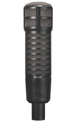 RE320 - Variable-D Dynamic Vocal and Instrument Studio Mic