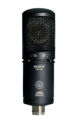 CX112B - CX Series Large Diaphragm Condenser for Recording and Broadcast