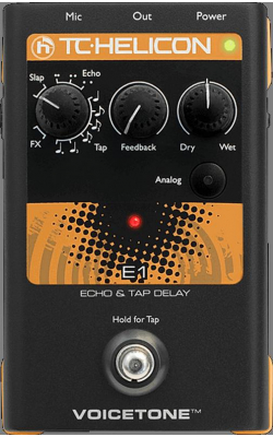 VOICETONE E1 - VoiceTone Series Echo and Tap Delay Pedal