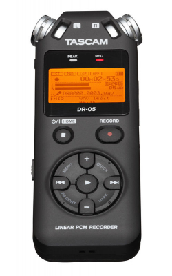 DR-05 - Portable Handheld Linear PCM Recorder