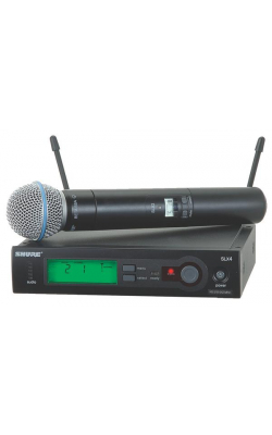 SLX24/BETA58-G4 - SLX Series Handheld Wireless System with BETA58 Mic