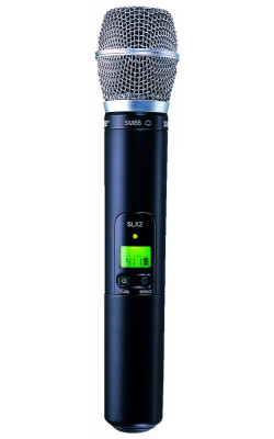 SLX2/SM86=-J3 - SLX Series Wireless Handheld Transmitter with SM86 Capsule