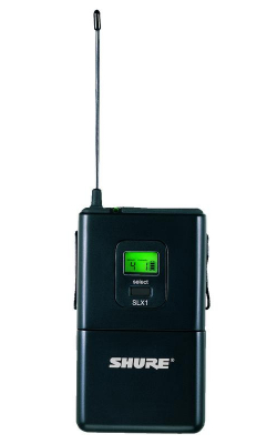 SLX1=-G4 - SLX Series Wireless Bodypack Transmitter