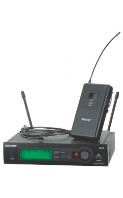 SLX14/93-G4 - SLX Series Lavalier Wireless System with WL93 Subminiature Omni Mic