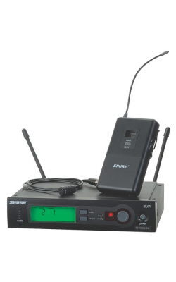SLX14/85-G4 - SLX Series Lavalier Wireless System with WL185 Cardioid Mic