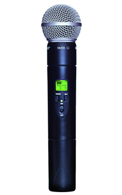 ULX2/58=-G3 - ULX Series Wireless Handheld Transmitter with SM58 Capsule