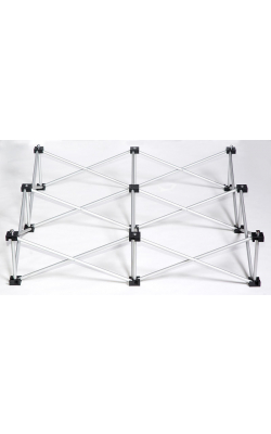 "IS4X4X8 - 8"" High Riser for 4FT x 4FT Square Stage Platform"