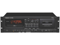 CD-A750 - CD/Cassette Combo Deck with XLR I/O