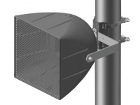 PMB-1RR - Pole Mount Bracket, Single Loudspeaker, Vertical Downtilt to 90 degrees
