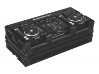 MA-DNSX1200 - Flight Road Case for 2 Small Format CD Players
