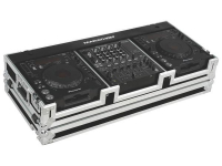 MA-DJCD12W - Flight Road Case for 2 Large Format CD Players