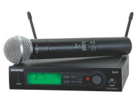 SLX24/SM58 - SLX Series Handheld Wireless System with SM58 Mic